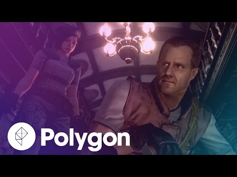 Resident Evil remastered gameplay at 60 frames per second - Trailer