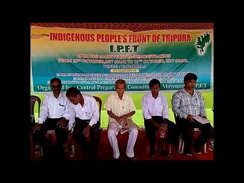 SRISTI TRIPURA LIVE NEWS 10 10 2017 HD VIDEO