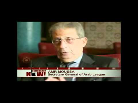 Feb. 2011 Amr Moussa on Egypt's Revolution, عمرو موسي والثورة