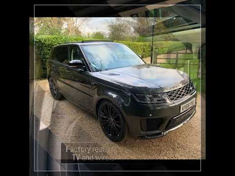 Download 2019 Model Year  Range Rover sport Autobiography 3.0 SDV6  5000 miles , 7 Seats 💺  Rear Entertainme…