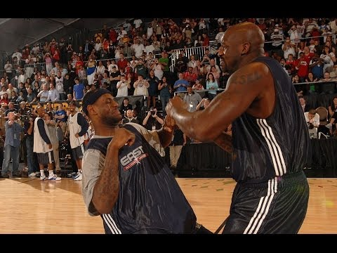 Shaq, LeBron, Dwight Howard AllStar DanceOff
