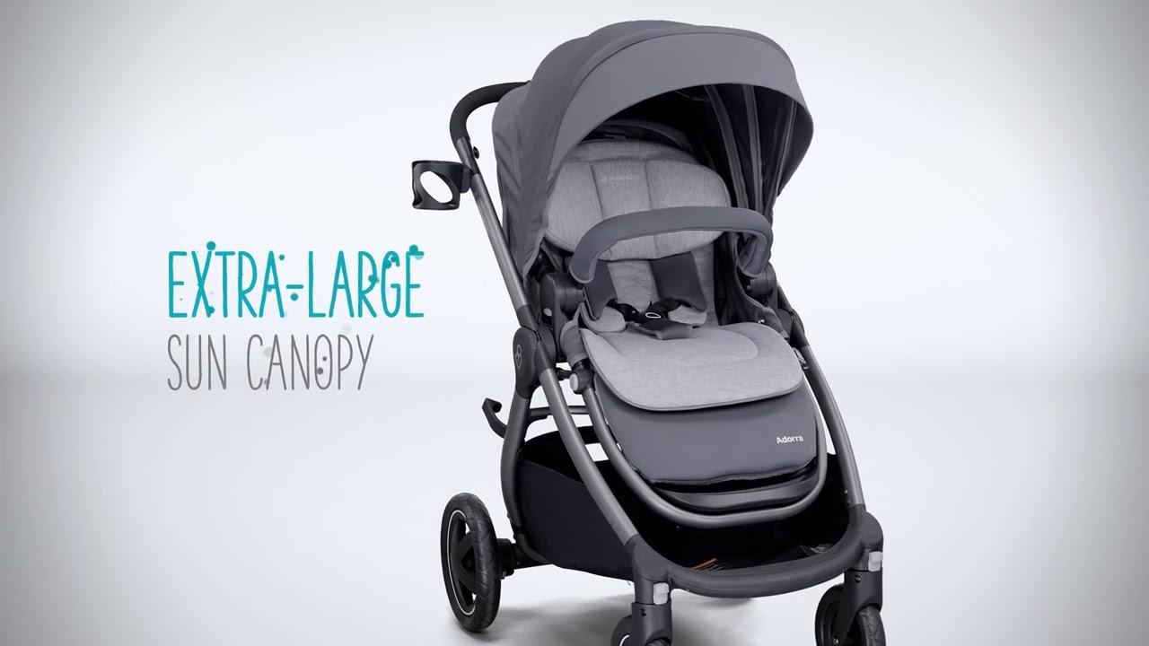 Maxi Cosi Adorra Stroller | Toys R Us Canada - YouTube