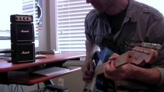 "Jason Hobbs- Marshall MS-4 practice amp demo ""Chicken Pickin Style"""