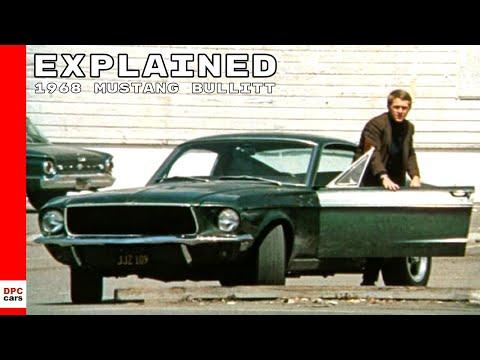 Original 1968 Ford Mustang Bullitt Explained