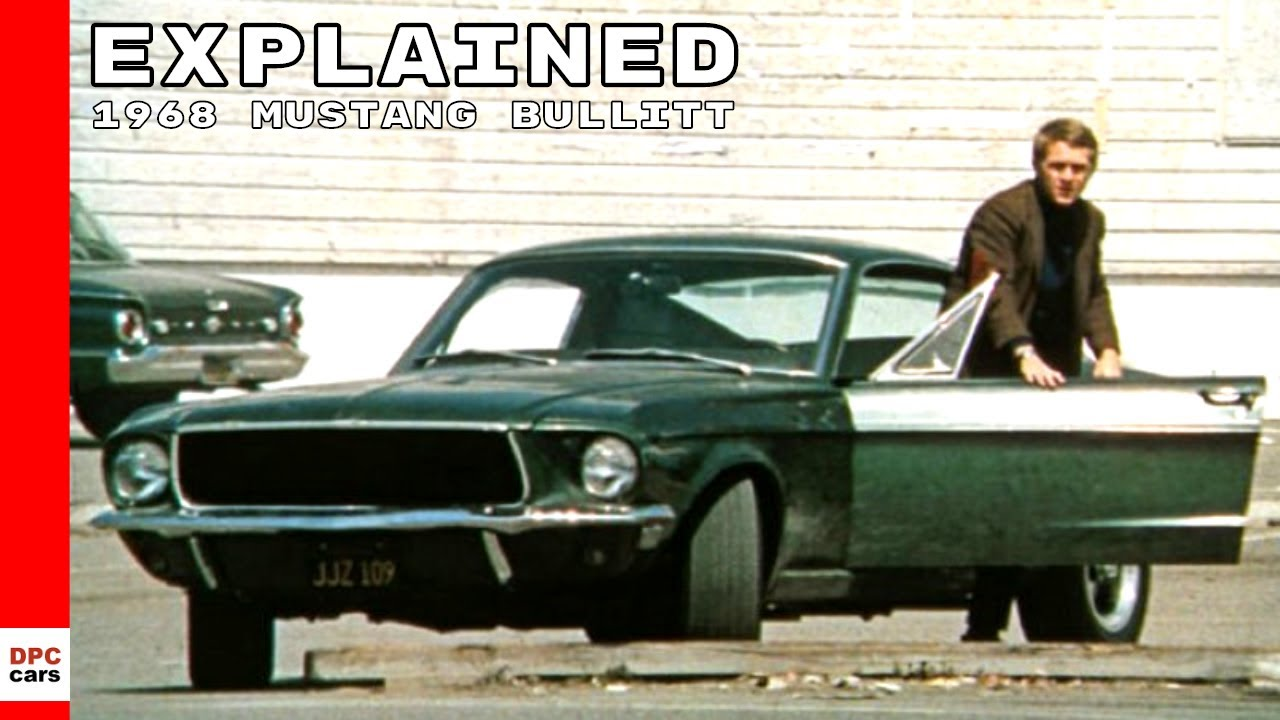Original 1968 Ford Mustang Bullitt Explained Youtube