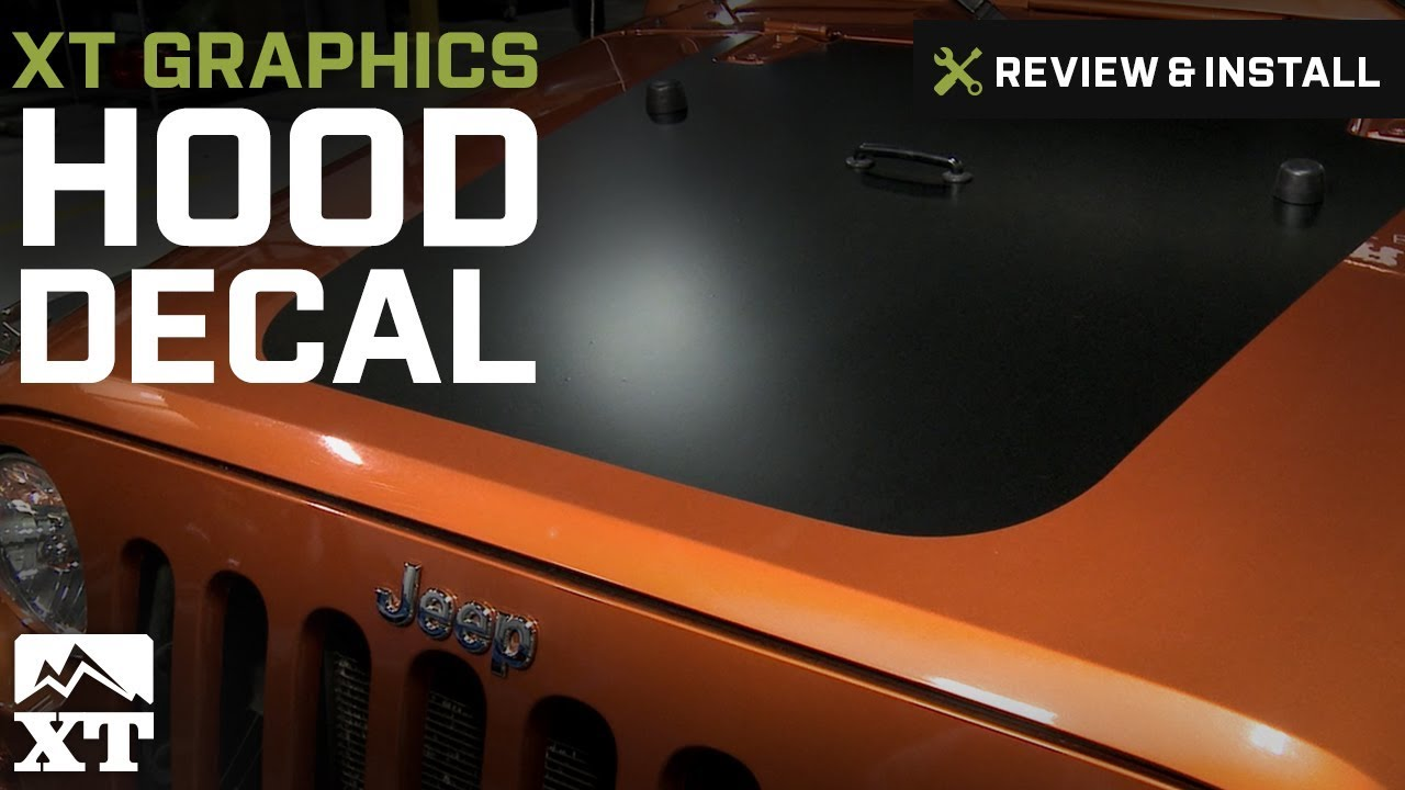 Jeep Wrangler Xt Graphics Hood Decal 2007 2016 Jk Review Install