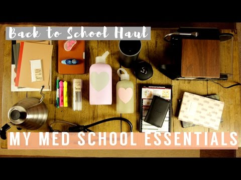 My Med School Essentials | The Stationery, Tools, and Gadget