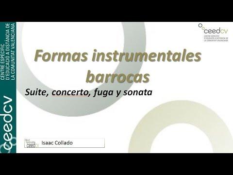 Formas instrumentales barrocas