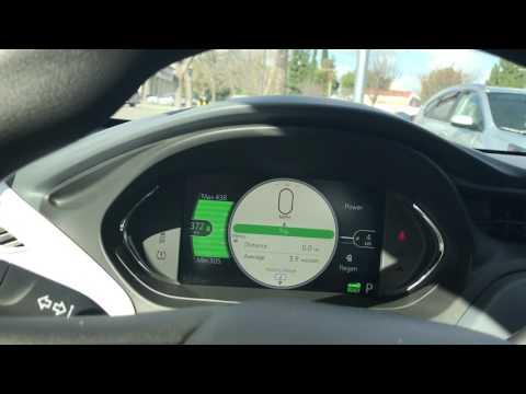 Chevy Bolt Ev (372 Miles charged) Range Test Part 2