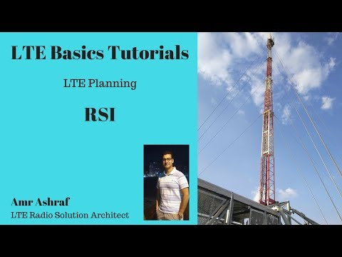 RSI Planning in LTE