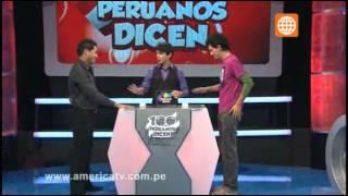 100 Peruanos Dicen - Domingo 2 de junio  (Bloque 2)