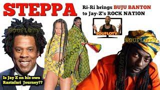 Rihanna and Buju Banton Link up at Jay Z Rock Nation