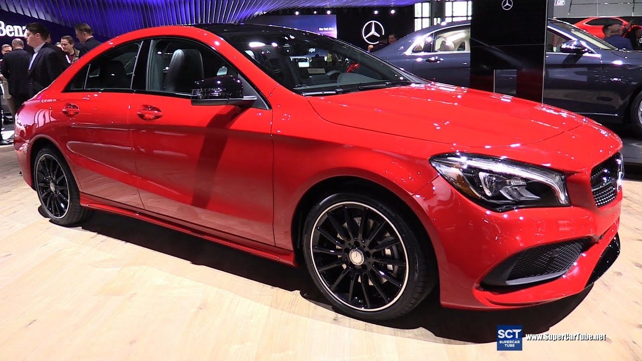 2017 Mercedes Benz Cla 250 Exterior And Interior Walkaround 2016 New York Auto Show
