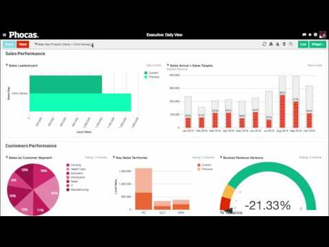 Phocas Software - 4 minute miracle (2016 business intelligence demonstration video)