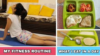 MY FITNESS ROUTINE + WHAT I EAT IN A DAY | Manasi Mau