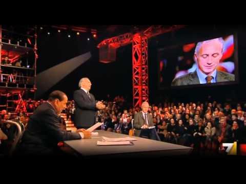 Confronto finale tra Travaglio e Berlusconi [parte2di2] (SP 10Gen2013)