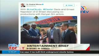 Ezekiel Mutua, CS Wario blasted for joy riding to Cannes leaving actors behind