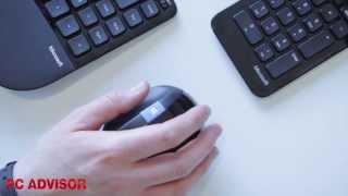 Microsoft Sculpt Ergonomic Desktop review - weird-shaped keyboard and mouse - PC Advisor