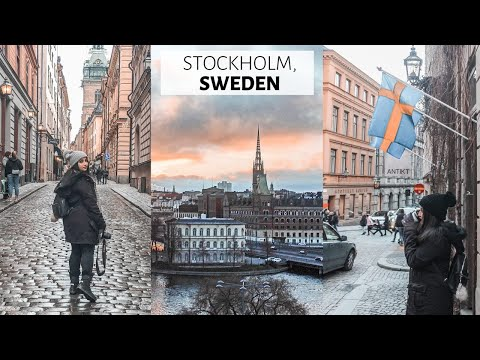🇸🇪 Stockholm in 8 minutes! Travel Guide | Tanesha N