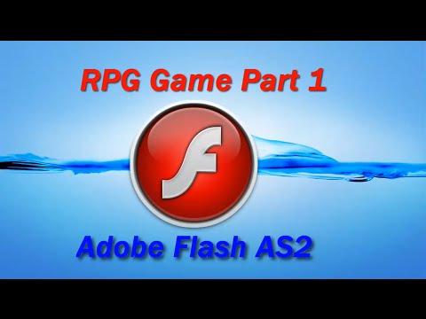 Adobe Flash AS2 - Flash RPG Game Part 1