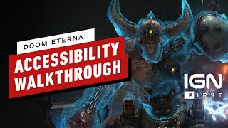DOOM Eternal: Accessibility and UI Customization Walkthrough - IGN First