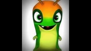 The little cute slugs from Slugterra
