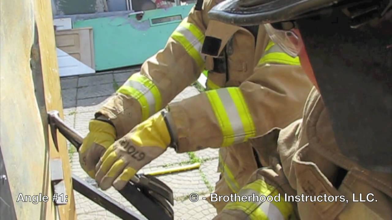 Forcible Entry Conventional Outward Opening Door