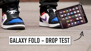 Drop Test Samsung Galaxy Fold за 200.000 рублей...
