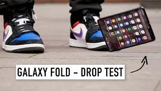 drop Test Samsung Galaxy Fold за 200.000 рублей...