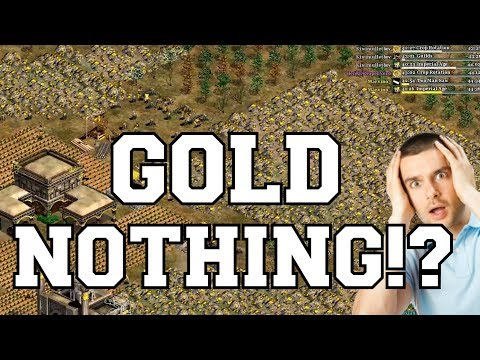 AoE2 - GOLD NOTHING!?