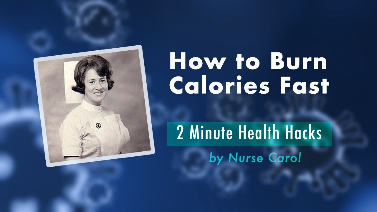How To Burn Calories Fast - YouTube