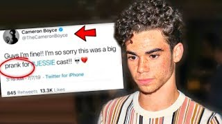 This Tweet Caused Fans To Think Cameron Boyce Is Alive (shocking)