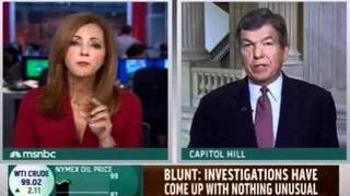 MSNBC: Senator Blunt on MSNBC w/ Chris Jansing Discussing Gas Prices 5/18/2011