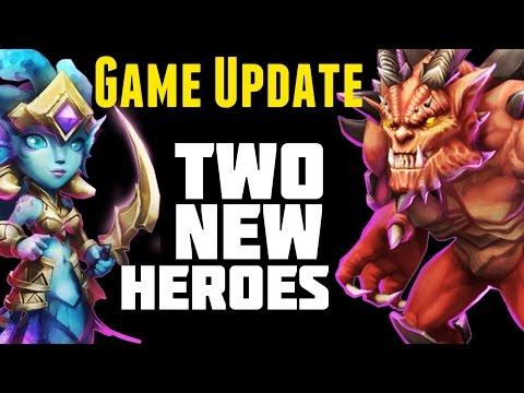Castle Clash: Siren + Destroyer + Game Update