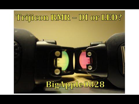Trijicon RMR - Dual Illuminated vs. LED