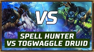 Spell Hunter VS Togwaggle Druid | The Witchwood | Hearthstone