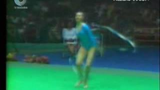 Cvetomira Filipova Ribbon 1985IntervisionCup