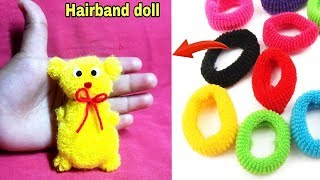 DIY Hairband Doll Making Tutorial | DIY Easy Handmade Doll | How to make dolls at home