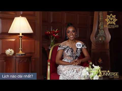 INTERVIEW | Huỳnh Thị Cẩm Tiên, SBD 332 | Top 45 Miss Universe Vietnam