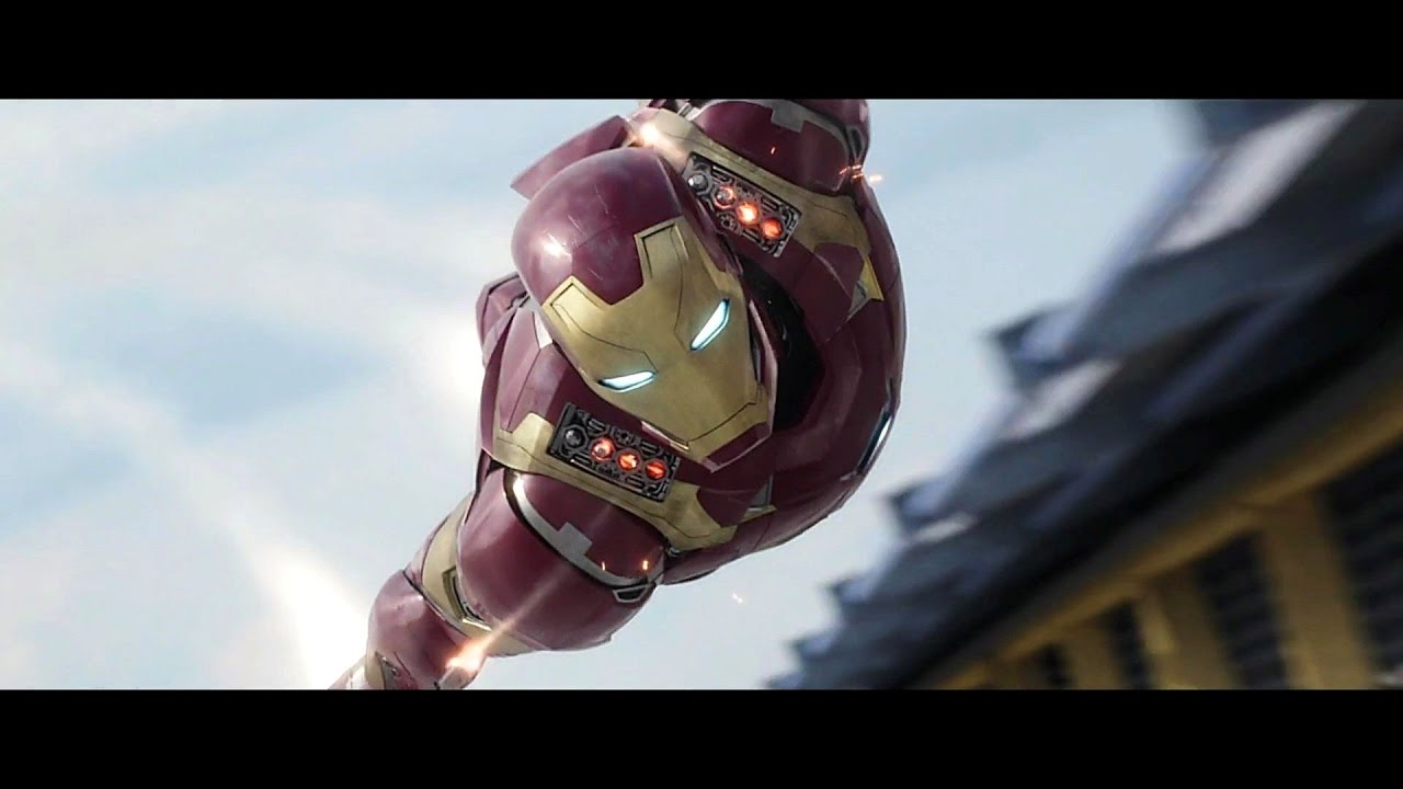 Iron Man - Flying Scenes Compilation Hd - Youtube-8306
