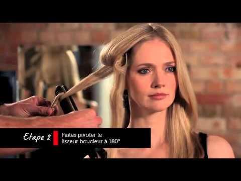 techniques pour boucler ses cheveux avec le lisseur sleek curl youtube. Black Bedroom Furniture Sets. Home Design Ideas