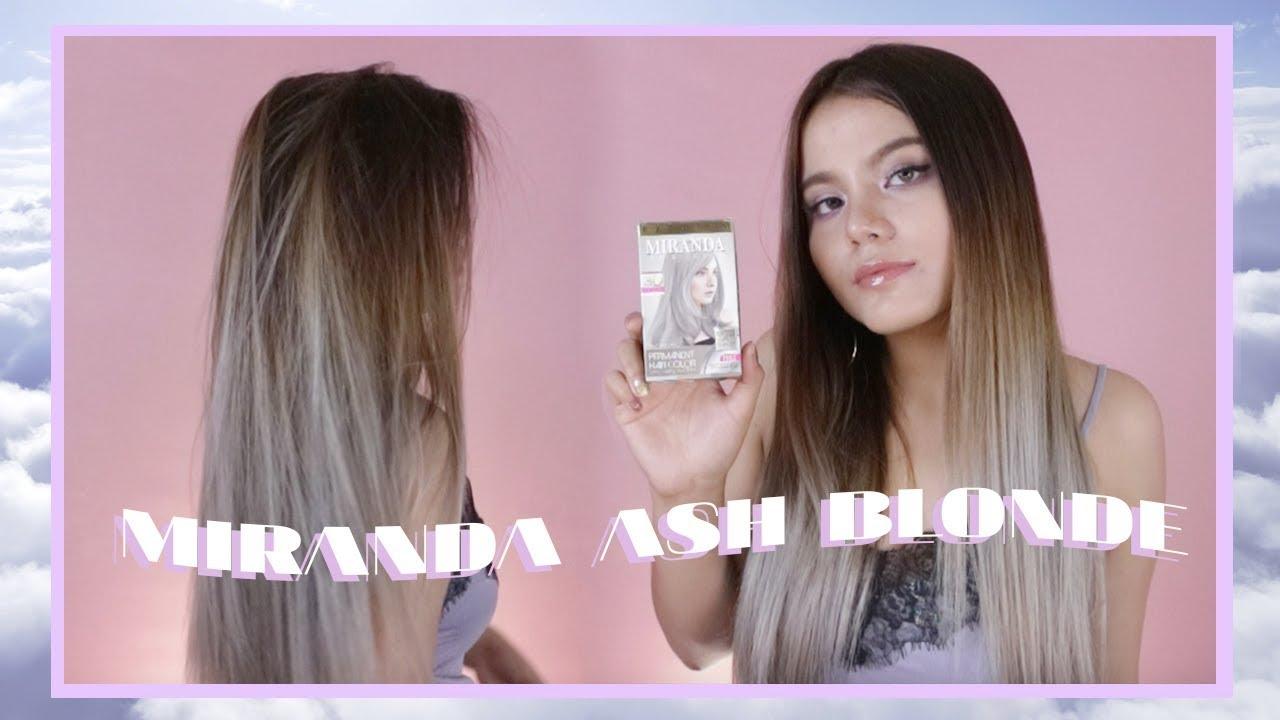 Miranda Ash Blonde   Grey Review + Tutorial Bahasa Indonesia  dccbc8aefe