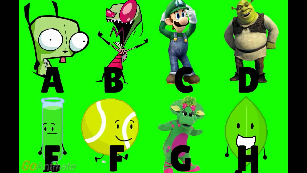 Cartoon Characters Green : Which green characters are better youtube