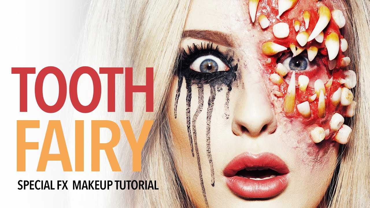 Tooth fairy special fx makeup tutorial youtube tooth fairy special fx makeup tutorial baditri Image collections