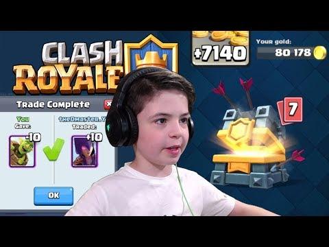 CLAN WAR CHEST - EPIC TRADE TOKEN - Clash Royale