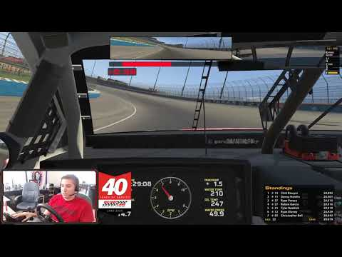 Round 2 of the eNASCAR iRacing Pro Invitational at Texas Motor Speedway