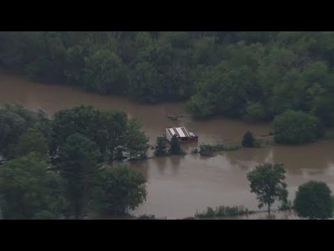 Torrential Rains Flood Dane County