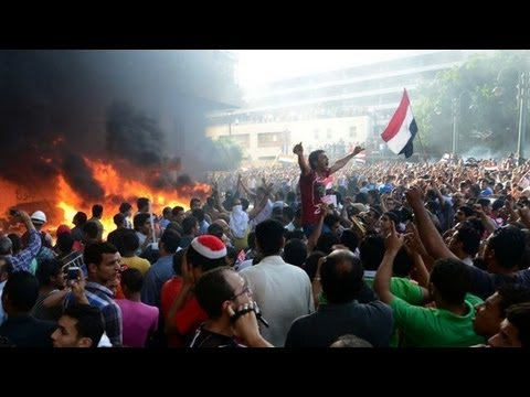 Egyptian Pro-Morsi Supporters Clash With Military Forces On The Anniversary Of The Arab-Israeli War