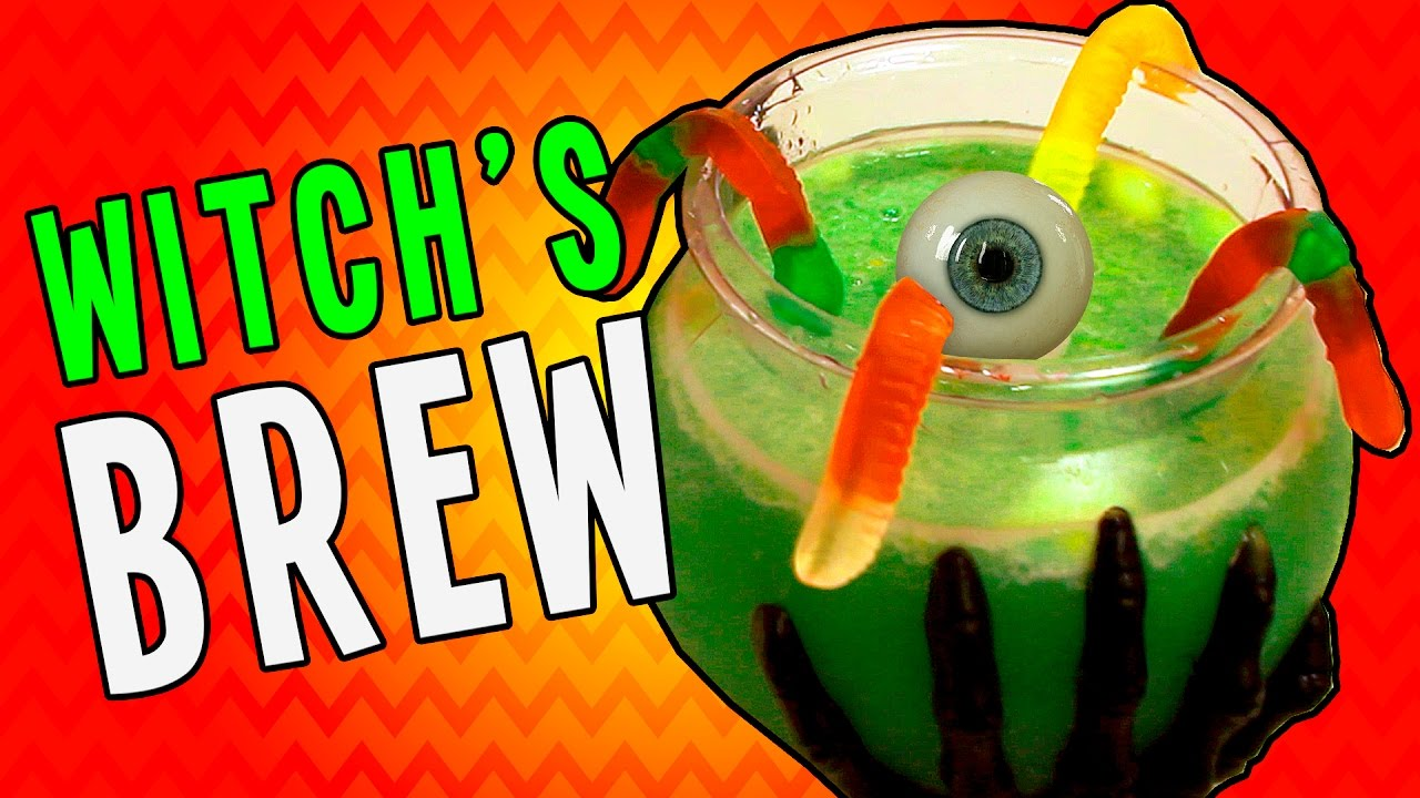 How To Make Witchu2019s Brew Party Punch   Runnyu0027s Halloween Recipes For Kids
