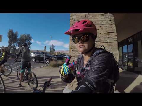 Mountain biking bears best, Irwin's cycles group ride